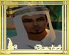 turbante blanco