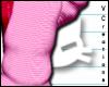 |V™ Pink Heart LSocks