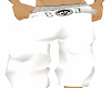 White MB Baggy Pants