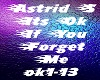 Astrid S  Its Ok If You