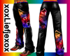 [L]  Wolf Colour Pants M