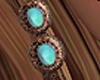 animated earrings boho