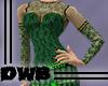 Clover Gemmed gown