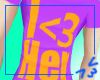 I <3 Her MALE Shirt x3