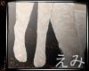 えみ|white lace socks