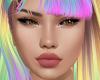 Queen face makeup Head