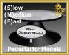 Rotating  Model Pedestal