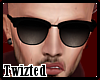 *T Black Sunglasses