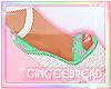 :G: Pretty Mint Wedges