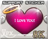 .xpx. Support Sticker 8k