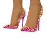Light Pink Spike Heels