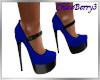 Paris Heels Blue