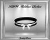 B&W Ribbon Choker