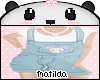 🐼Blue bunny jumper