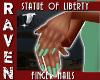 STATUE of LIBERTY NAILS!