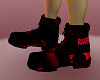 NL-Rave Boots Red
