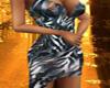 Z stripe Dress Sexy  Br.
