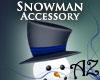 *AZ* Snowman Hat