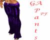 GA Purple Pants PF