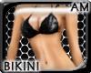 [AM] Bikini Black Jeans
