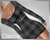 C Just plaid greey dress