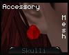 s|s Rose earrings . mesh