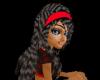 ~RYL blk w/red headband