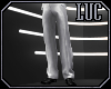 [luc] suit pants white