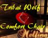 Tribal Wolf Comfort Chr