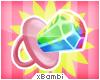 . Rainbow Ring Pop