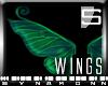 [S] FP Green Fairy Wings