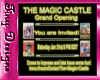 Tiny Magic Castle Invite