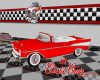 SC Classic Red 57 Chevy