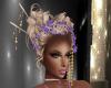 Geisha Hairdress Purple
