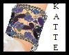 Purple Butterfly Cuffs S