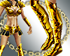 [bi]Golden Warrior boots