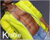 K yellow coat  M