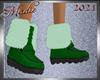 !a Green Winter Boots