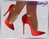 Tina Heels Red