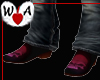 Blood Skull Mens Boots