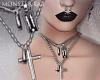 ¤ CrossBlade Necklace
