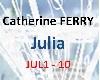 Ferry catherine JULIA