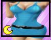 Blue Simple Tight Dress