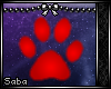 (: Pawprint .:Red:.