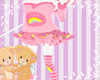 (CB) Cheer bear skirt