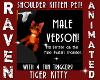 (M) TIGER SHOULDER CAT!
