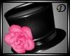 {D} Rose Hat PINK v.1