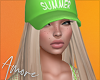 $ Cap + Blonde Hair
