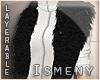 [Is] Fur Shrug Black