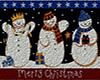 Snowmen Door mat